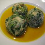 Canederli agli spinaci bimby