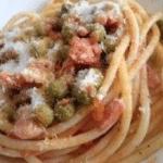 Piselli con pancetta bimby