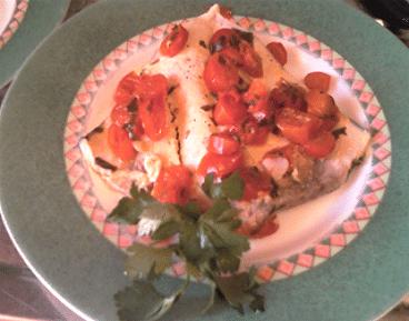 Pesce spada con pomodori e capperi bimby